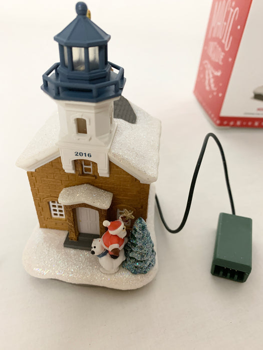 Hallmark Christmas ornaments and magic cord