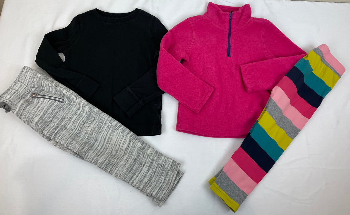 Girls sweatshirts and leggings bundle Size 2-3T