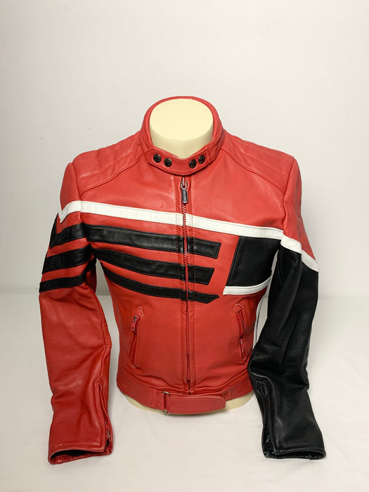 Fieldsheer Mens leather jacket size 42/52