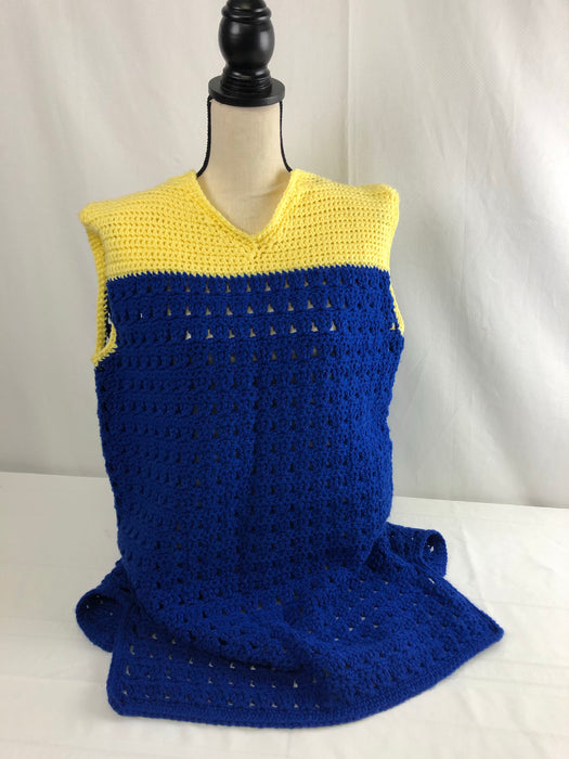 Crocheted Dress Size XL