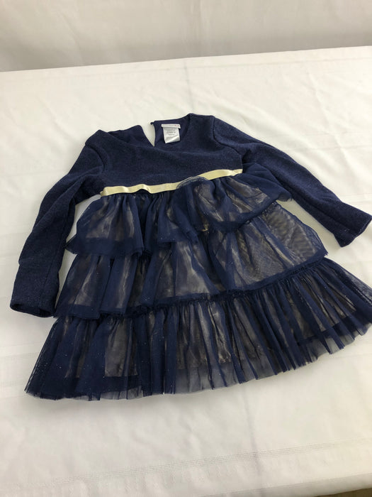 Girls Navy Blue Dress 3T