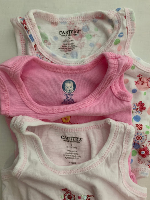 Bundle Baby Girl Clothes Size 0-3m