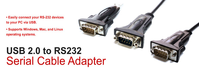 USB 2.0 to RS232 Converter