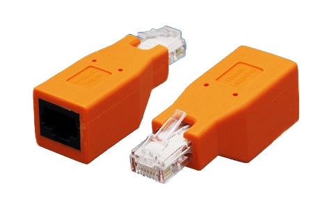 CAT6 - CAT5e RJ45 Male to Female Crossover Adapter