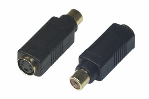 S-Video Female to RCA Female Video Adapter
