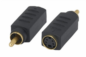 S-Video Female to RCA Male Video Adapter
