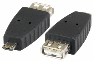 USB A Female to Micro B Male Adapter