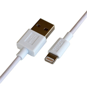 Apple MFi Certified - Lightning to USB Sync and Charging Cable, White 3 Ft.