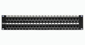 CAT5E Patch Panel, 48-Port, 110 Type, 568A-568B Installation
