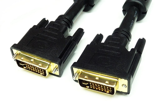DVI-I Dual Link Male to Male Cable, 10'