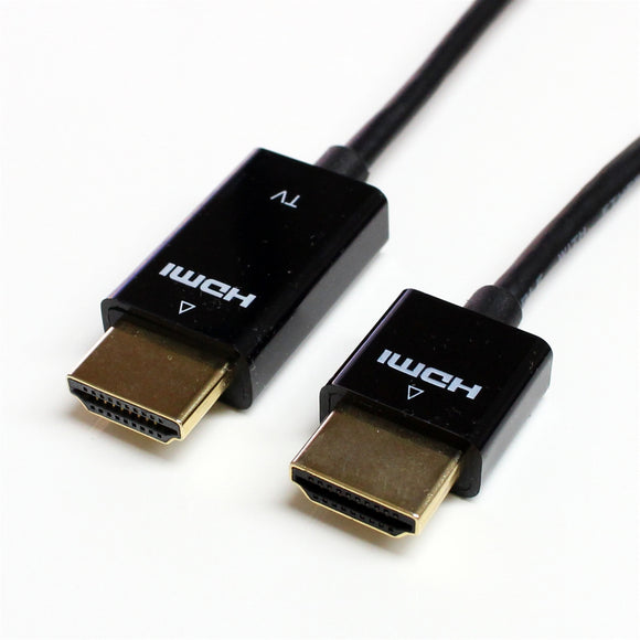 Super Slim High Speed HDMI Cable with Ethernet , 36 AWG with Redmere Chip, 6 Feet