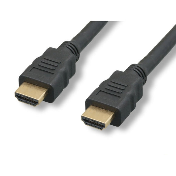 High Speed HDMI Cable with Ethernet, 10 Ft.
