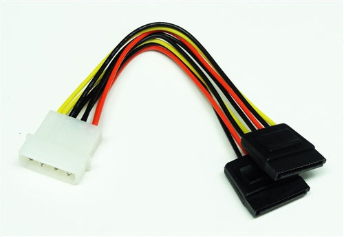 5.25 Male to SATA x2, Serial ATA Power