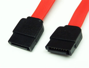 Serial ATA Cable, Straight to Straight, 0.5 Meter = 19.7""