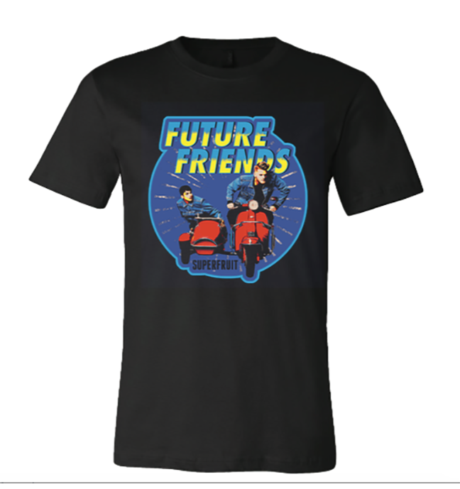 Black Future Friends Tee (Unisex)