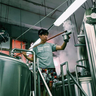 Q&A with Moses Sin, Brewer (& Cloud Surfer), Hong Kong Beer Co