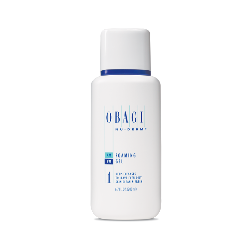 Obagi Nu-Derm Foaming Gel - Normal to Oily (6.7 fl oz - 200 ml)