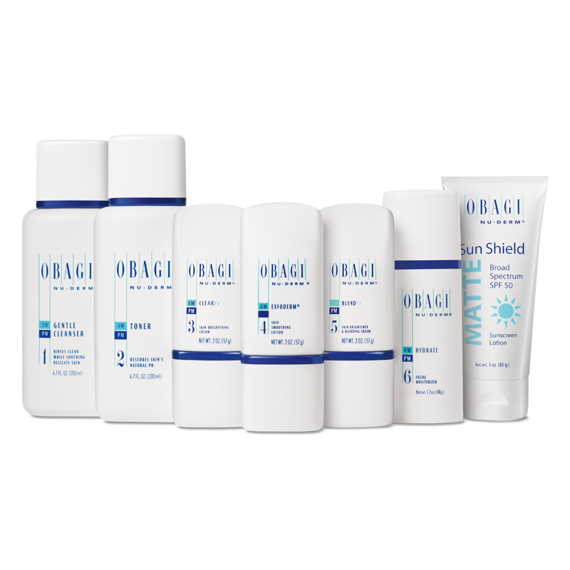 Obagi Nu-Derm Fx System - Normal to Dry (8 piece)