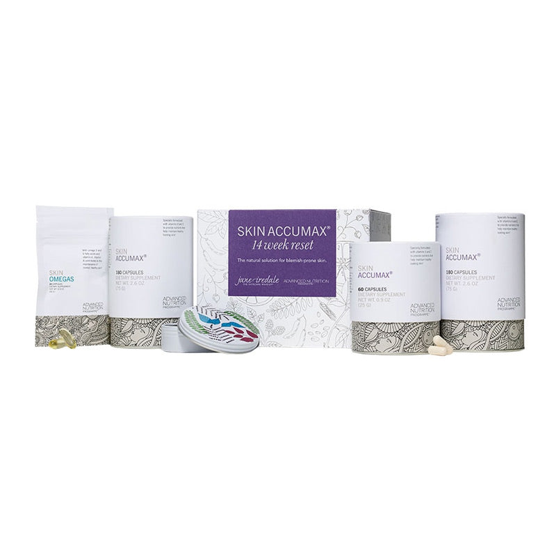 Jane Iredale Skin Accumax 14 Week Reset Box