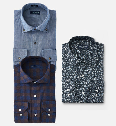 Designer Style Shirts For Men Combo of 3