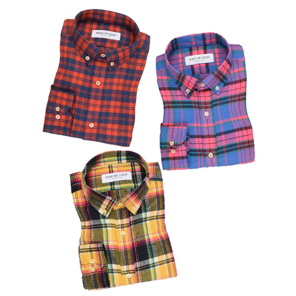 Stylish Colorful Shirts For Men Combo of 3