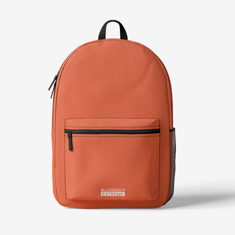 Orange Trendy Backpack