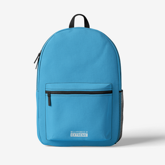Sky Blue Trendy Backpack