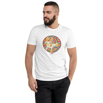 Retro White Kitty Men's T-Shirt - Merch by Billyforce
