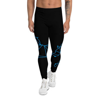 Blue Unicorn Men's Leggings - Merch by Billyforce