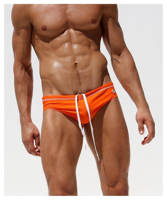 Men's Low-Rise Swimming Briefs - Merch by Billyforce