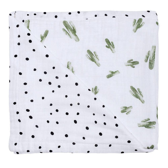 Saguaro & Dottie Oh-So-Soft Muslin Snuggle Blanket