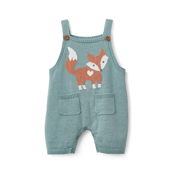 Fox Teal Shortall