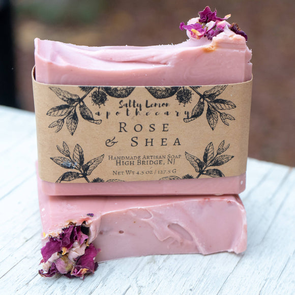 Rose and Shea Soap