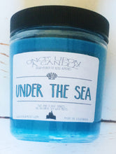 Load image into Gallery viewer, Under The Sea - The Little Mermaid Inspired Candle & Bath Bomb Set