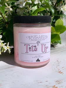 Mrs. Maisel Inspired Candle - Tits Up - The Marvelous Mrs. Maisel Gift