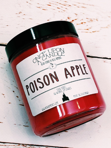 Poison Apple Candle - Disneyland Inspired Candle - Snow White Candle - Soy Candle - Disneyland Candle - Snow White and the Seven Dwarve