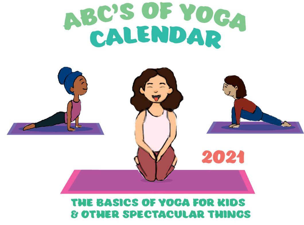 ABC's of Yoga 2021 Calendar