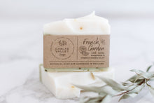 Load image into Gallery viewer, Guest/travel size soap bar in cotton pouch