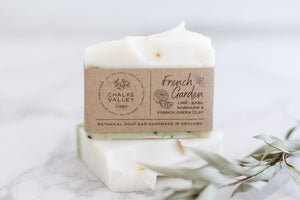 Guest/travel size soap bar in cotton pouch