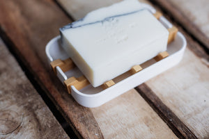 ECO Soap Dish – White