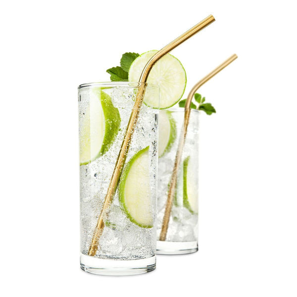 BelmontTM Gold Cocktail Straws by Viski