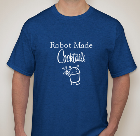 T-Shirt — Robot Made Cocktails