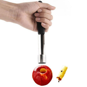 apple core remover - steel apple core remover
