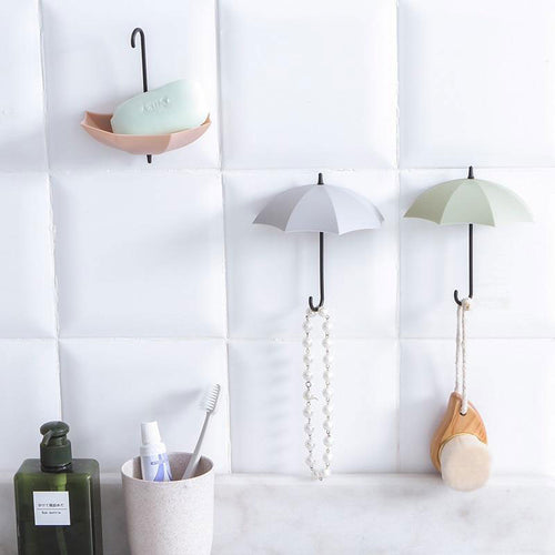 hanging umbrella hooks