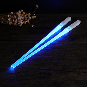 lightsaber chopsticks blue - led saber sticks