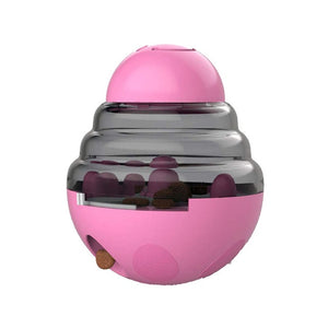 pink feeding ball for pets
