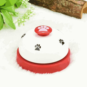 pet bell for dogs red