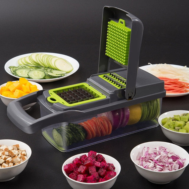 vegetable and fruit cutter - cubes vegetable cutter