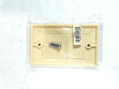Eagle Electric Mfg Blank Ivory Wallplate; Part #Q2129V