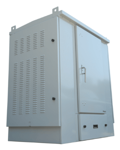 2 Bay OTN Cabinet With Battery Tray - 8,000 BTU A/C 14002-2 - Confluent Technology Group